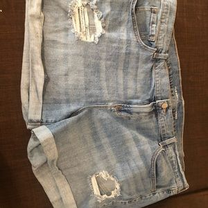 Jean shorts from Old Navy